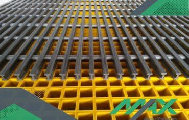 La rejilla de fibra de vidrio es una de las mejores opciones para pisos en fábricas y almacenes. Contamos con envíos para toda la república. ¡Llámanos!